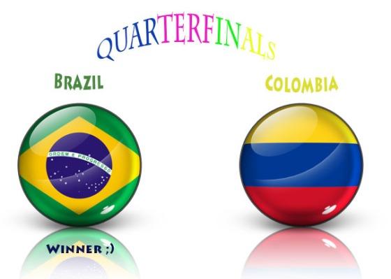 pred, brazil vs colombia