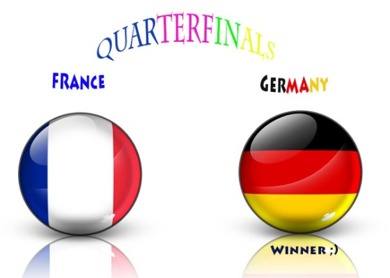 pred, germany vs france